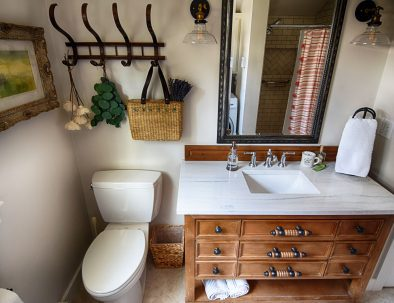 1st Floor Bathroom with Walk-in Shower