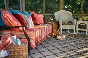 Screened Gazebo Daybed